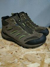 Merrell Intercept Mens Green Select Dry Walking Hiking Trainers Shoes Size 9