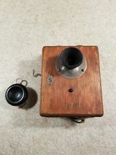 Vintage Western Electric 327 AB phone / interphone. inspected in 1913