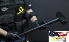 1/6 scale metal long Hammer for SWAT figure weapon Phicen Hot toys DID ❶USA❶