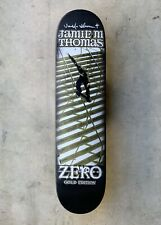 Zero Gold Edition 'Smith Grind' Sample Deck Signed By Jamie Thomas RARE