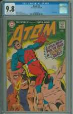ATOM #34 CGC 9.8 OW/WH PAGES