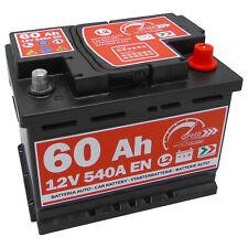 Autobatterie 12V 60Ah 540A EN Speed starter Batterie ersetzt 55 56 62 65 Ah