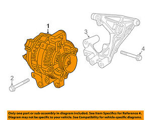 GM OEM-Alternator 13597236
