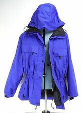 Eddie Bauer GORE TEX WaterProof Hooded Ski Jacket Womens Purple XXL
