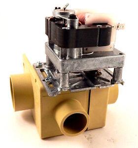 IPSO 9001353 Depend-O-Drain Valve, 2 inch, 220-240V/50-60, w/Overflow