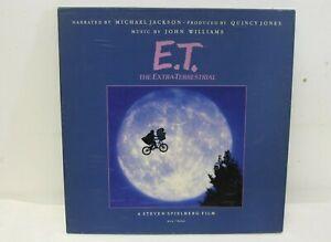 MICHAEL JACKSON JOHN WILLIAMS E.T. The Extra-Terrestrial Storybook LP Vinyl -R67