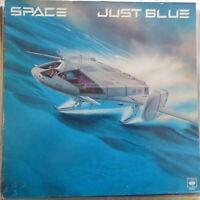 SPACE LP JUST BLUE 1978 EUROPE VG++/VG++ OIS BLUE VINYL