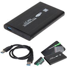 USB 3.0 2.5'' SATA External Hard Drive Mobile Disk HD Enclosure/Case Box Black
