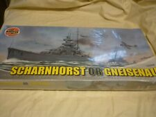 Airfix factory sealed un opened / un made plastic kit of Scharnhorst, Gneisenau