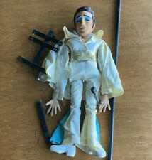 Vtg Large Marionette Puppet Elvis Hand-Carved Painted Jointed Wood  2 Feet Tall