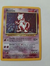 ↓ ↓ Pokemon Base Set Holo MewTwo 10/102
