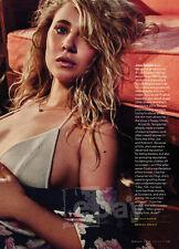 Juno Temple 2-pg clipping 2016 Vinyl's Rock Goddess