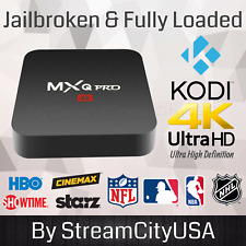 NEW MXQ Pro 4K 3D 64Bit Android 7.1 Quad Core Smart TV Box KODI 17.6 & Much More