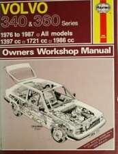 Volvo 340 & 360 Series 1976-1987. All models. (Haynes Owners Workshop Manual), C