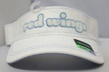 Detroit Red Wings Women's Reebok Hockey White Visor