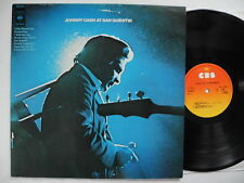 JOHNNY CASH At San Quentin  LP 1969 Holland PROMO EX