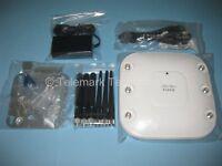 Cisco Aironet 1262N Autonomous IOS Wireless AP AIR-LAP1262N-A-K9 Complete Kit