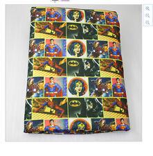 Superman Wonder Woman Batman Fabric Poly Cotton 1m x 1.47m