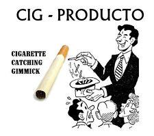 CIGARETTE PRODUCTION GIMMICK Metal Appearing Magic Trick Catcher Cigar Ball Cig