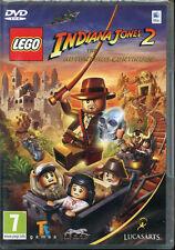 LEGO INDIANA JONES 2 Intel Mac OS 10.6 Gioco di Avventura Azione Nuovo