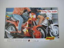 advertising Pubblicità 1988 MALAGUTI FIFTY TOP/FULL CX 50