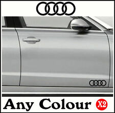 AUDI CAR STICKERS DECAL VINYL MOD A2 A3 A4 A5 A6 A8 TT Body,Glass,Door Graphics