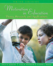 USED (GD) Motivation in Education: Theory, Research, and Applications (3rd Editi