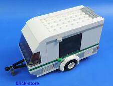 Lego ® City auto/car 60117/remolque caravanas, Caravan, tráiler, Mobile Home