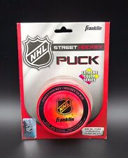 Franklin Sports Street Hockey Puck - NHL  Extreme Series Red New