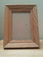 """Wood photo frame, 6x8"""" for 4x6"""" picture"""