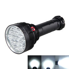 SKYRAY 40000LM 16X XML T6 LED 3-Modes Flashlight Camping Torch 6x18650 Hunting