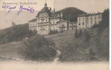 AK Semmerfing, Südbahnhotel, Niederösterreich  (F22)