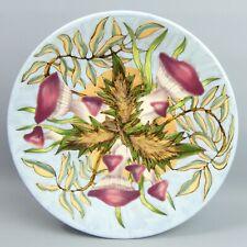 More details for cobridge art pottery woodland floor design plate c.1999