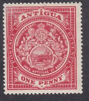 Antigua 1908 to 1917 - 1d Red - SG43 or SG44 - Mint Hinged (E8E)