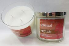 2 Sensual Sandalwood Fig Scented Candle  Bath & Body Works 14.5 Oz