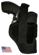 USA Mfg Pistol Holster 357 Smith Smith Wesson 442 S&W Inside or out isp owb