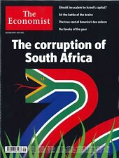 The Economist Magazin, Heft 49/2017: The corruption of South Afric   + wie neu +