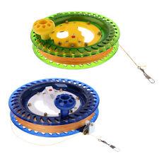 2pcs ligne de cerf-volant enrouleur de roue de préhension avec bobine de