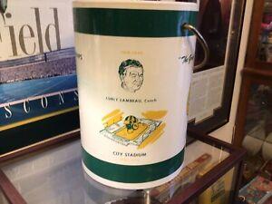 1960s VINTAGE ICE BUCKET CURLY LAMBEAU COACH VINCE LOMBARDI GREEN BAY PACKERS🏈