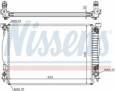 Radiator-GAS, Auto Trans, Natural, B6 Front Nissens 60307A