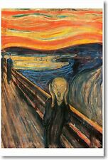 The Scream by Edvard Munch 1893 - NEW Art Print POSTER