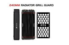 RTX - 240MM GTX Computer Radiator Cover Plate Water Cooling Fan Guard Grill PC