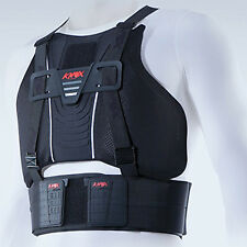 Planet Knox Chest Guard Protector Small Black Motorcycle Armour S