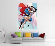 SUPERMAN AND LOIS LANE DC GIANT WALL ART PRINT POSTER H259