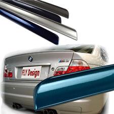 pintado alerón trasero BMW E46 kofferraumlippe 3m Estilo Azul MONTREAL 297