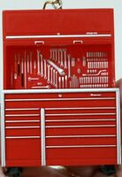 Snap-On Tool Box Storage Ornament 1:24 Scale Replica Holiday Ornament Red RARE