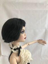 Seeing Thru the Darkness Raven Wig only ~ Tonner Evangeline Ghastly doll fashion