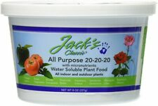 Jacks Classic 8oz 20-20-20 All Purpose Fertilizer