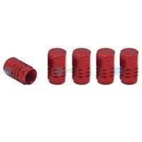5 x YOU.S Alu Ventilkappen Rot mit Dichtung Abdeckung für Auto PKW LKW - NEU