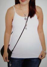 b5c9c0db97a New ListingTop Tank Cami Women Plus Size 5X (30W-32W) FADED GLORY Cami  Stretch White NWT